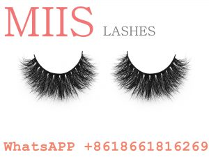 popular 100% real mink 3d eyelash